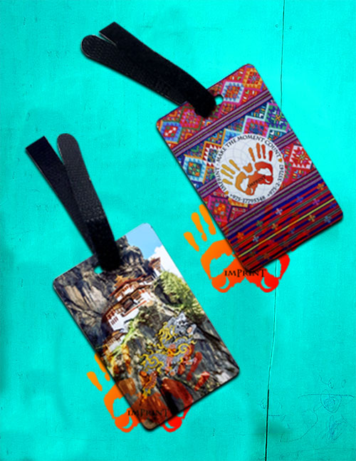 imprint thimphu custom luggage tags