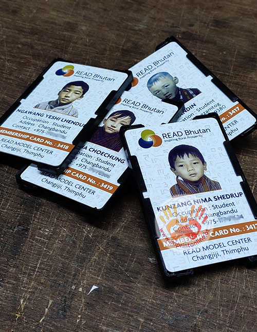 imprint thimphu custom id cards