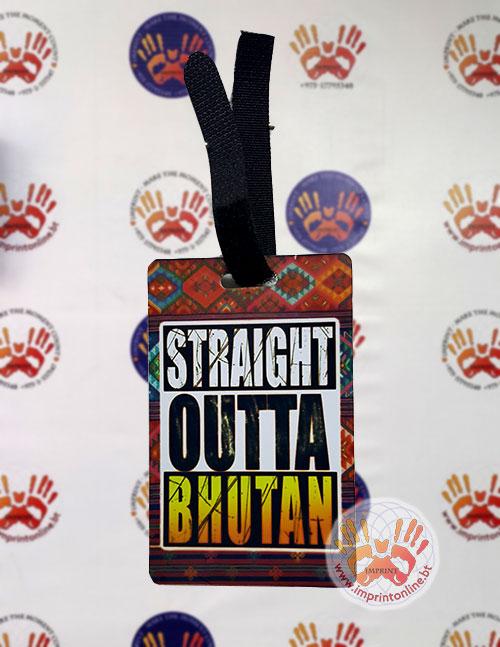 Luggage Tag Design Printing Souvenir Gift Shop Imprint
